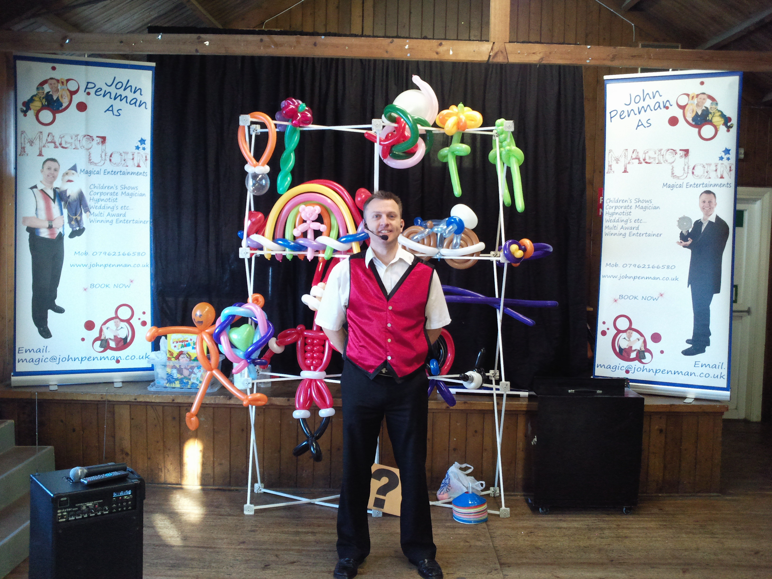 John Penman - Show Balloons