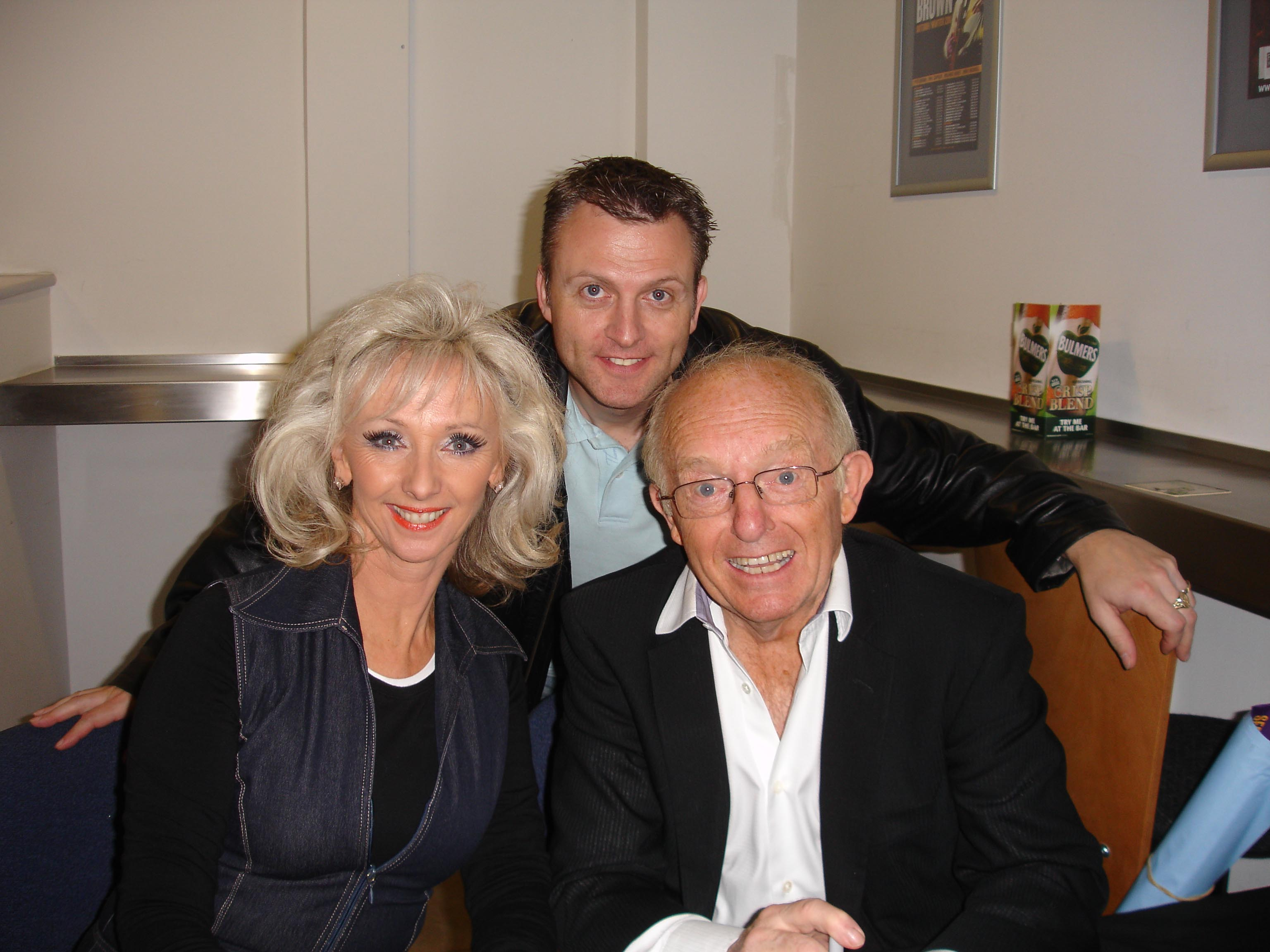 Paul Daniels, Debbie McGee and John Penman
